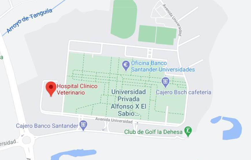 Hospital Clínico Veterinario UAX